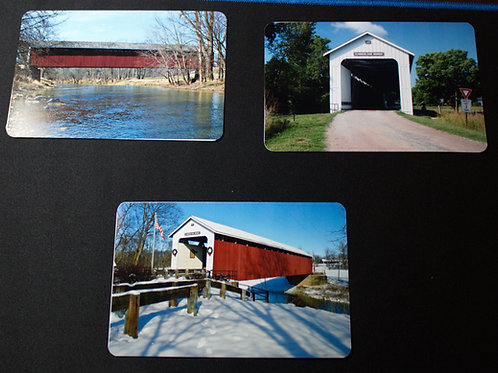 Postcards of the Matthews Covered Bridge