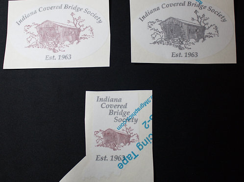 ICBS back window stickers