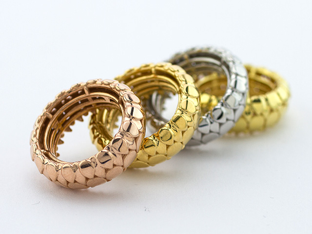 Plated Brass Rings