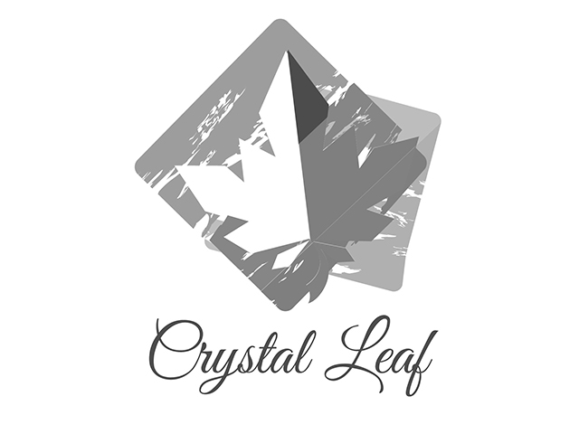 crystal leaf