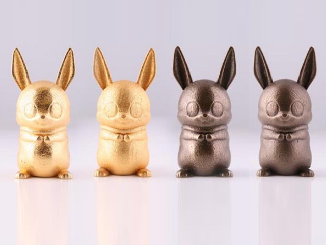 Sterling Silver Bunnies