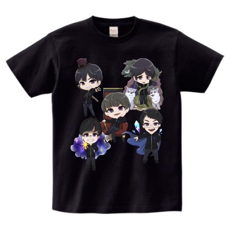 Crest Gaming 様 キャラTシャツ