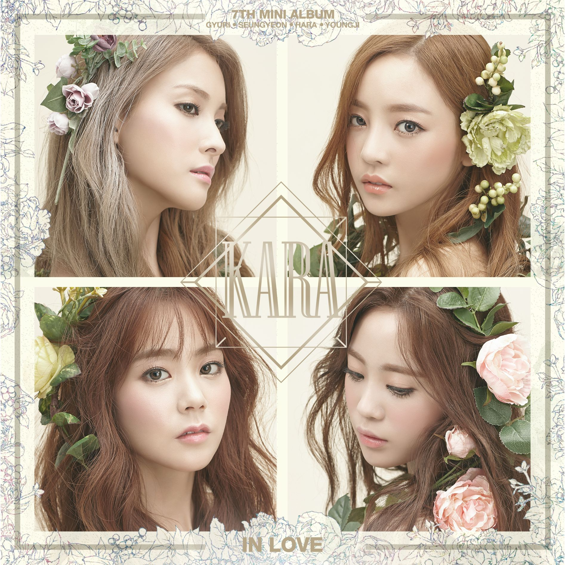 [KARA] 7th Mini Album `In Love`
