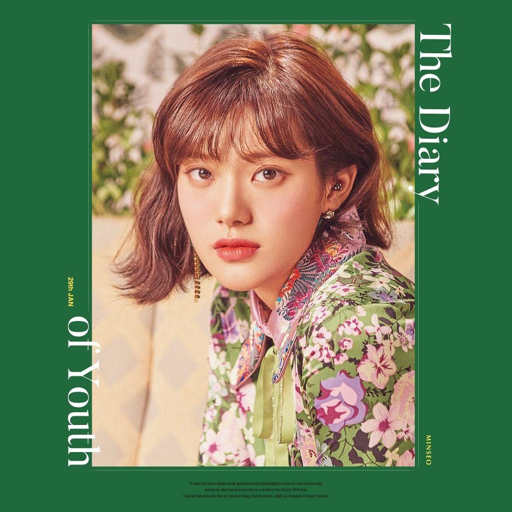 [민서] 1st Mini Album [The Diary of Youth]