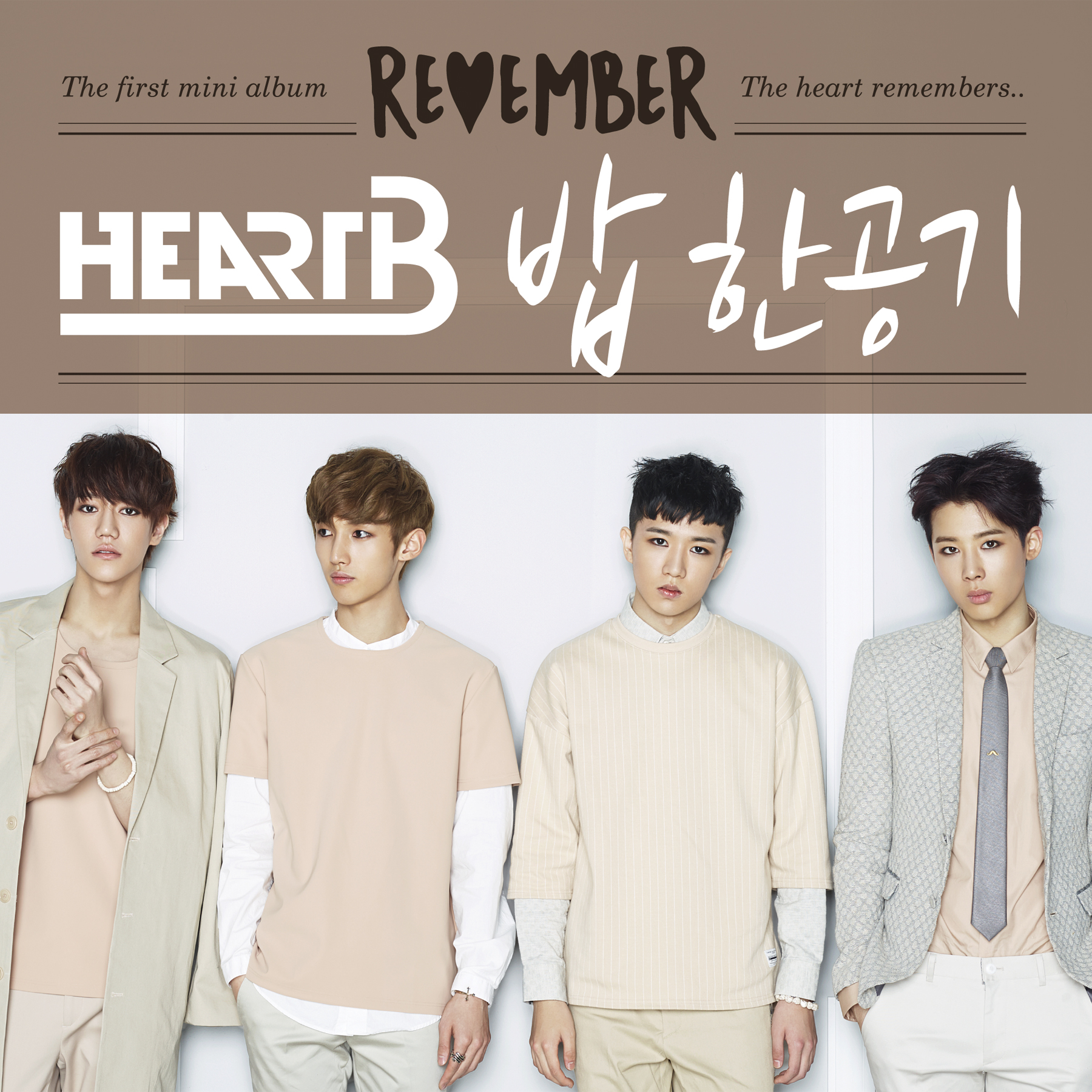 [HeartB] 1st MINI ALBUM `REMEMBER`