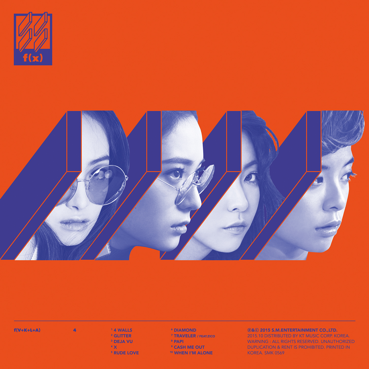 [f(x)] 4 Walls - The 4th Album