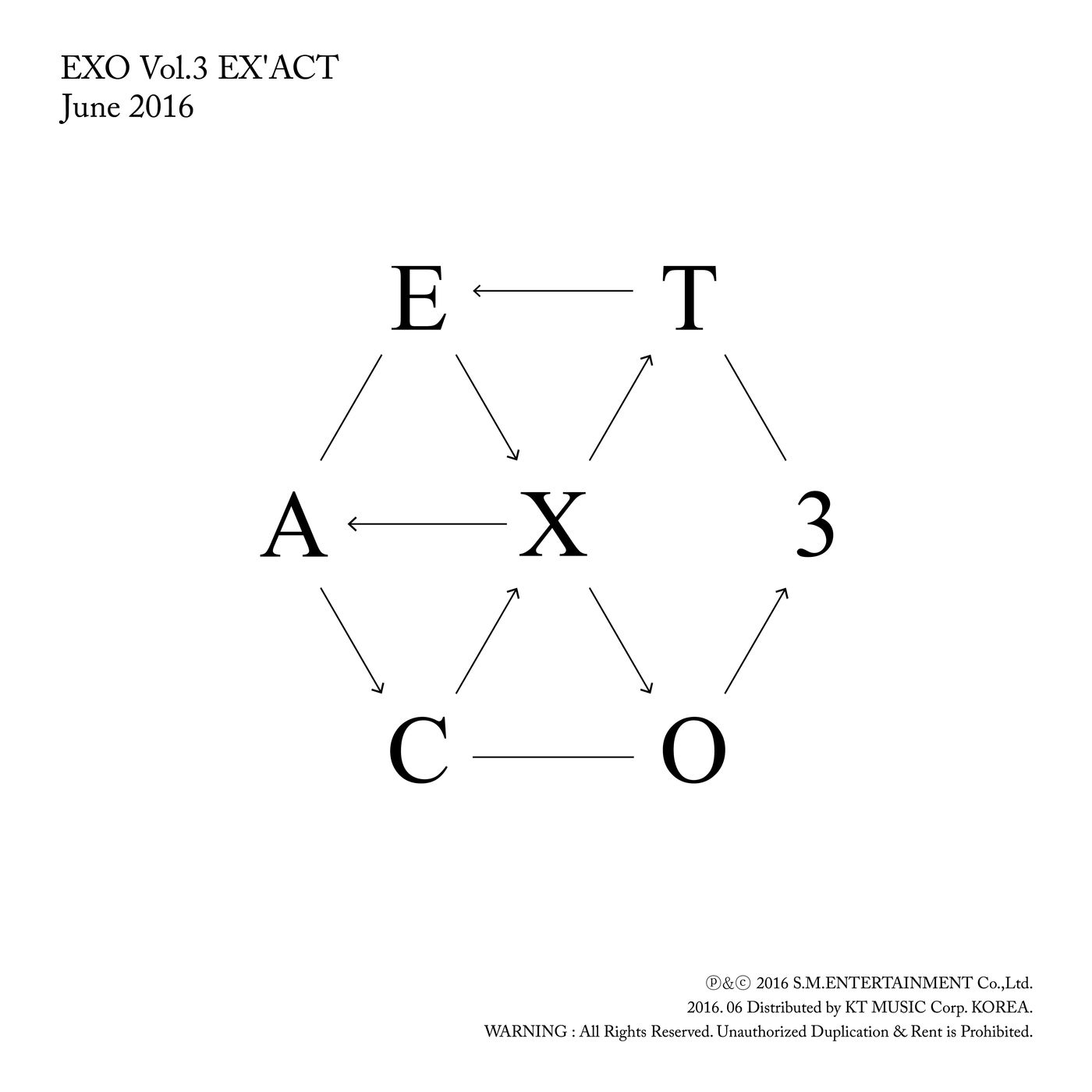 [EXO] EX`ACT - The 3rd Album
