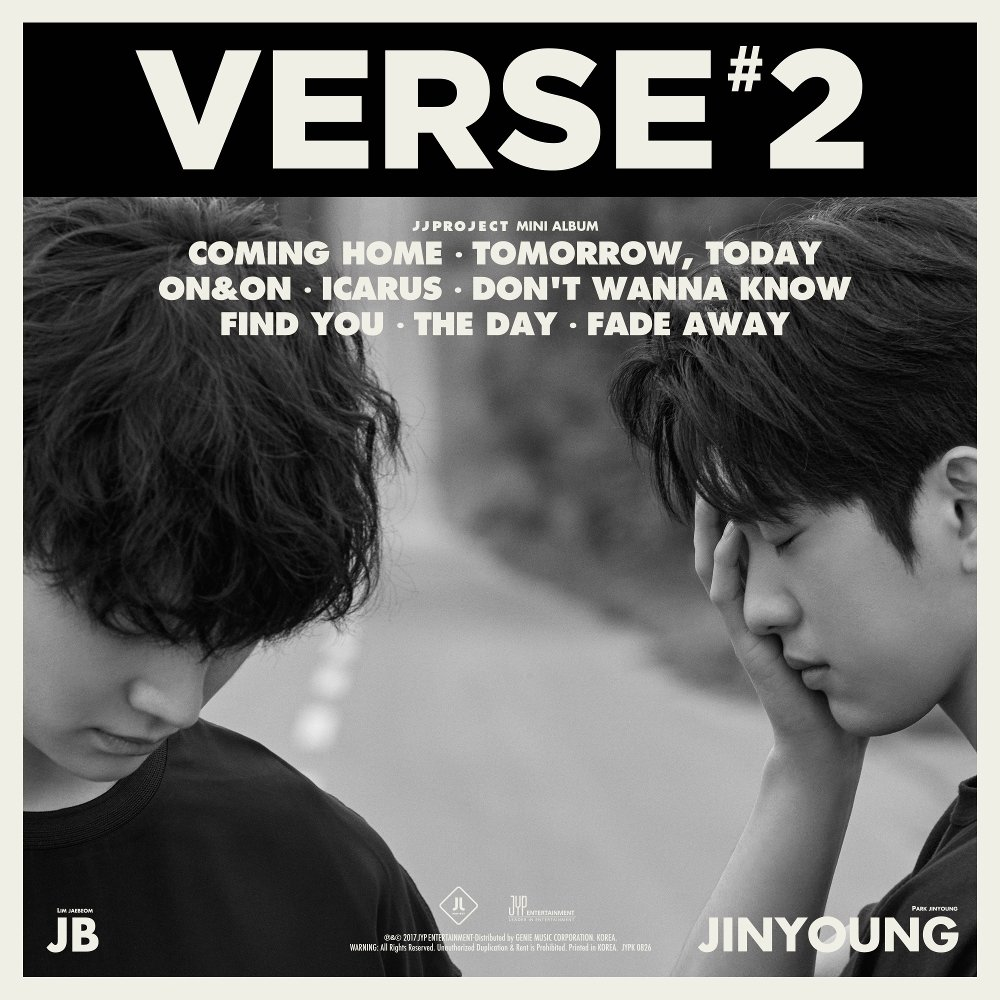 [JJ Project ] 2nd Single 'Verse 2'