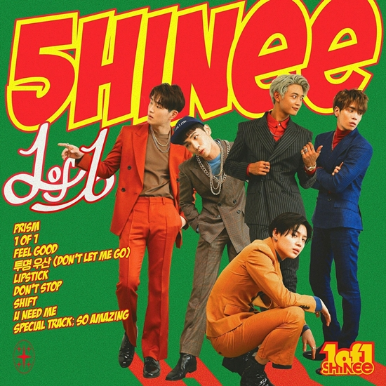 [SHINee] 1 of 1 - The 5th Album