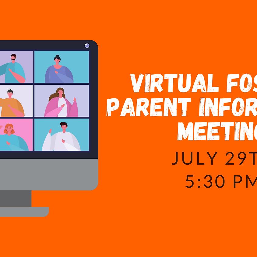 Virtual Foster Parent Information Meeting
