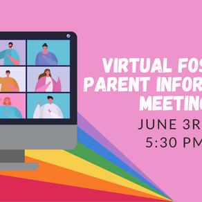 June Virtual Foster Parent Information Meeting