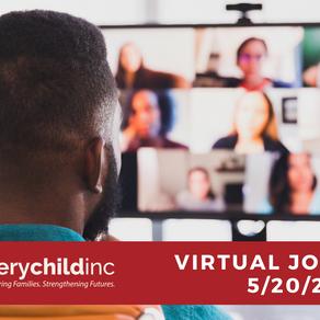 Virtual Job Fair 5/20