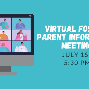 July Foster Parent Information Meeting
