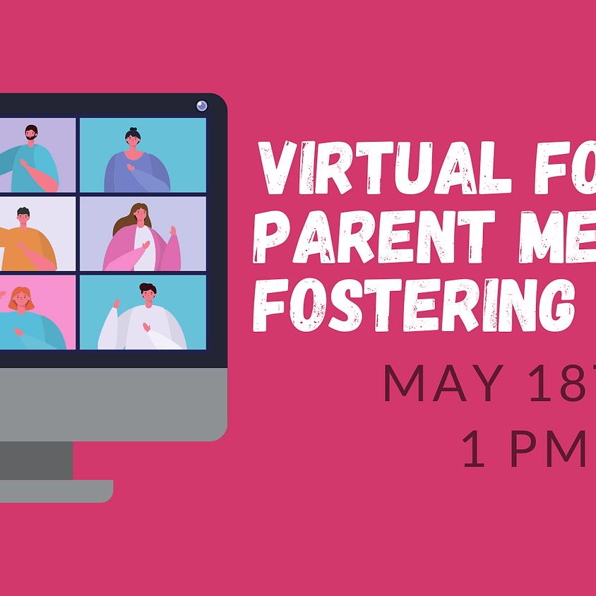 Virtual Foster Parent Meeting: Fostering Teens