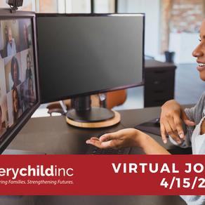 Virtual Job Fair 4/15