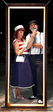 miss margie e carlo weegee foto vintage anni 50 summer jamboree