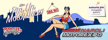 locandina contest miss pin up motor show expo mostra d'oltremare napoli