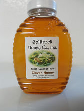 16 oz. Raw Clover Honey