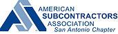 ASA Logo Horizontal - San Antonio Chapte