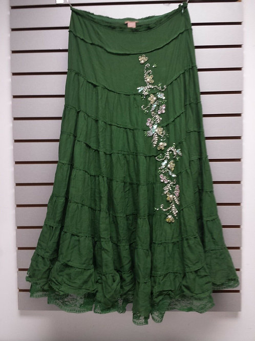 Green BoHo with Sequins