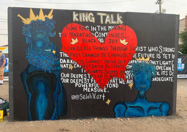 King Talk @ Crush Walls 2020
