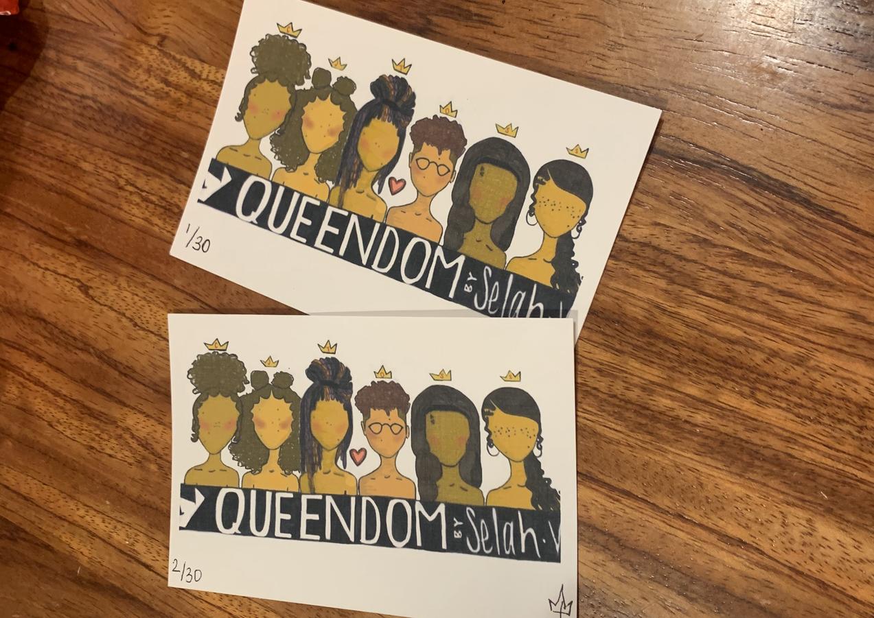 Queendom (4''x6'')