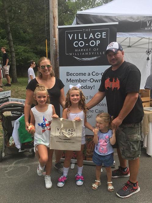 Lifetime Membership in the Village Co-op Market of Williamsville