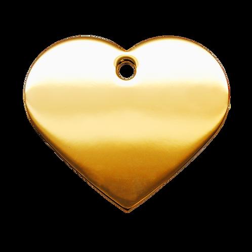 Gold Heart  Tag (L)