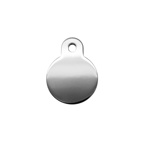 Chrome Circle Tag (S)