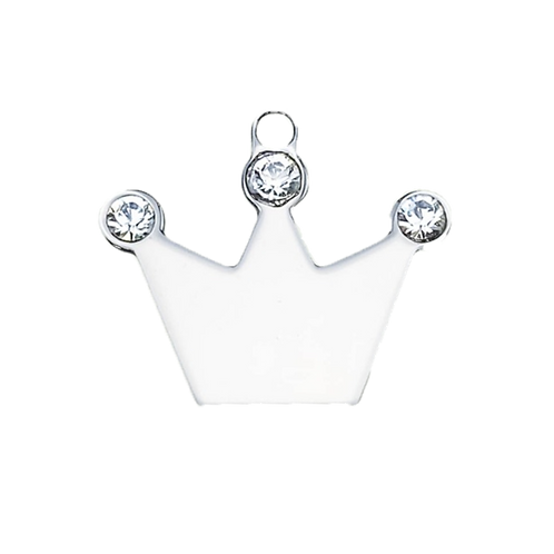 Crown with Crystal (S)