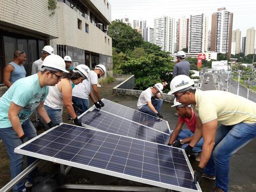 cursi de energia solar Salvador