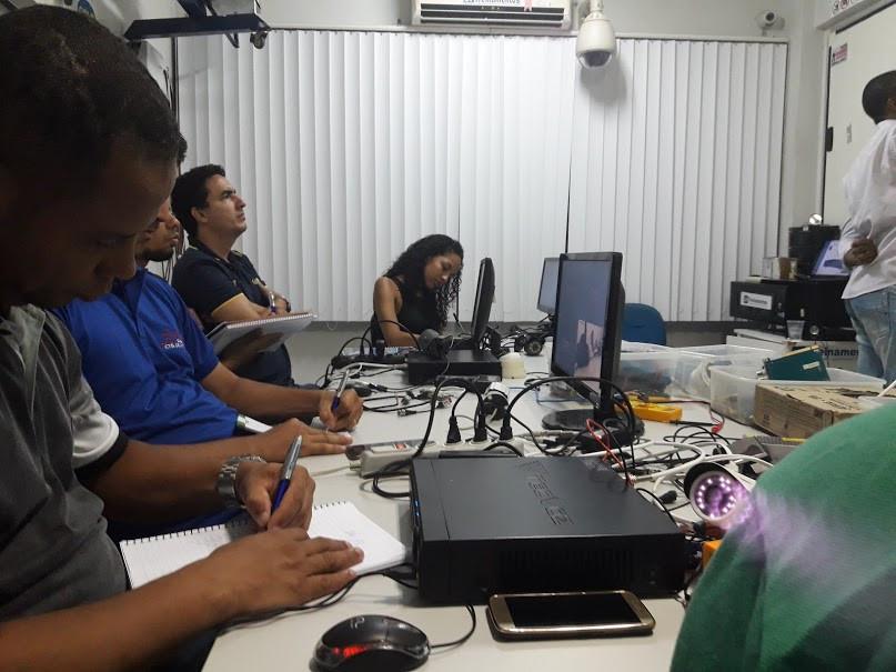curso de instalacao de cameras cftv Salvador