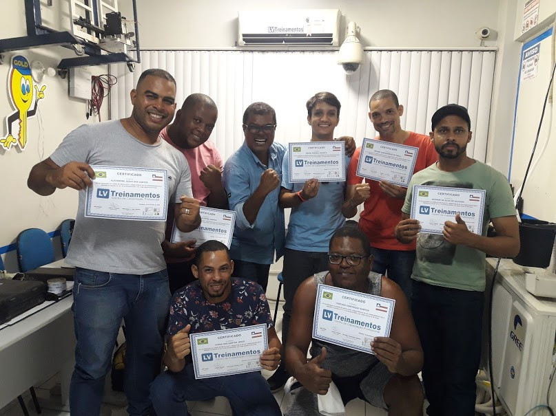 Curso de ar condicionado Salvador Bahia