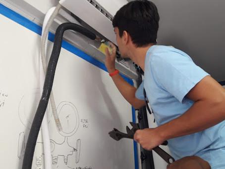 curso instalador ar condicionado splir Salvador