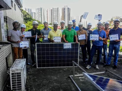 aula energia solar