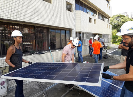 curso instalador energia solar Salvador Bahia