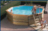 piscina madeira