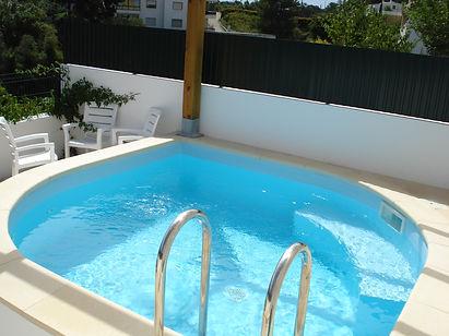 piscina em tela