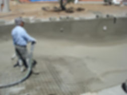 Piscina Betão Projectado