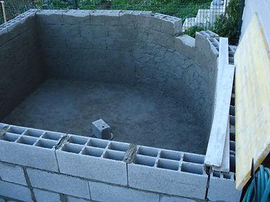 construção piscinas