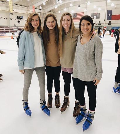 Skating with SAM Sisterhood event!❄️