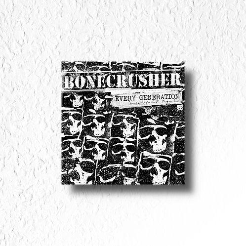 Bonecrusher - Every generation, CD