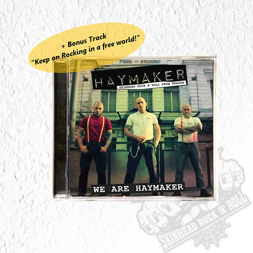 HAYMAKER - We are Haymaker + Bonus Track CD