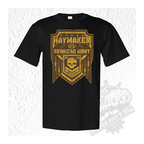 Haymaker - Skinhead Army T-Shirt