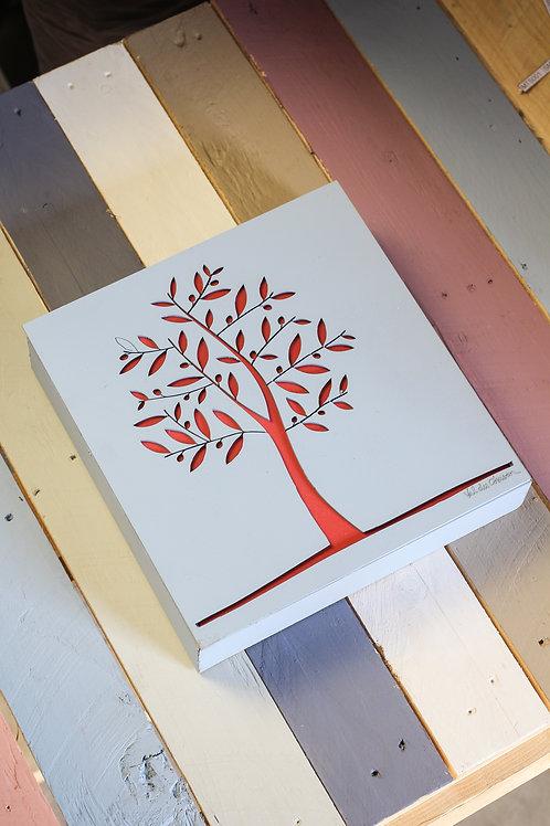 Olive tree wall art