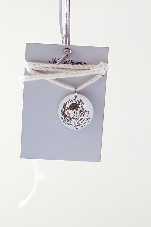 protea pendant