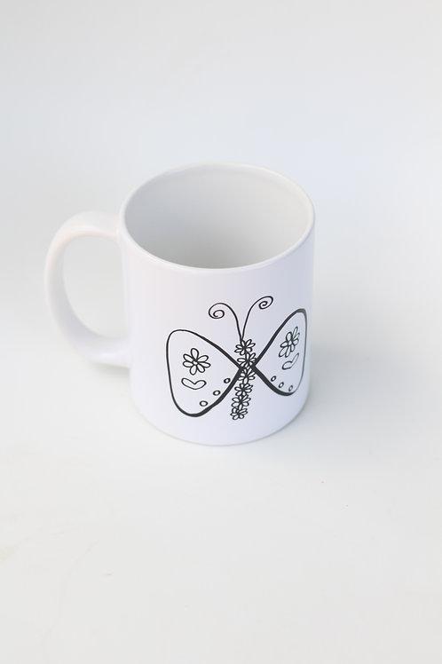 Butterfly Mugg