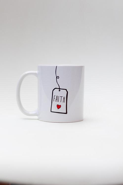 Tea tag Faith