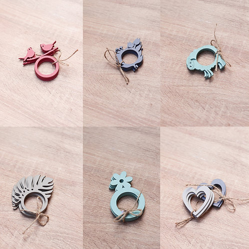 Serviette Rings set of 4