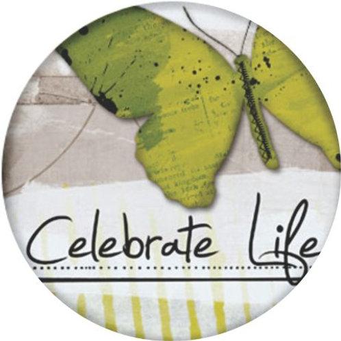Celebrate life keyring